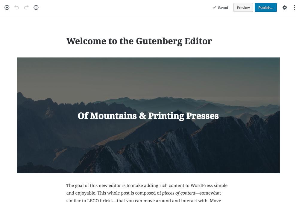 building gutenberg blocks tutorial