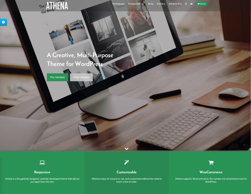 Athena – Responsive – Multipurpose WordPress Theme
