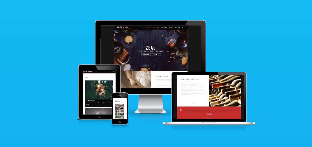 Zeal Pro - WordPress Theme - Design By Smartcat