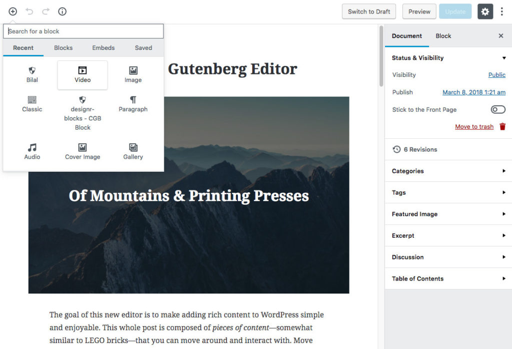 WordPress Gutenberg Editor is Coming, and it Will Impact You