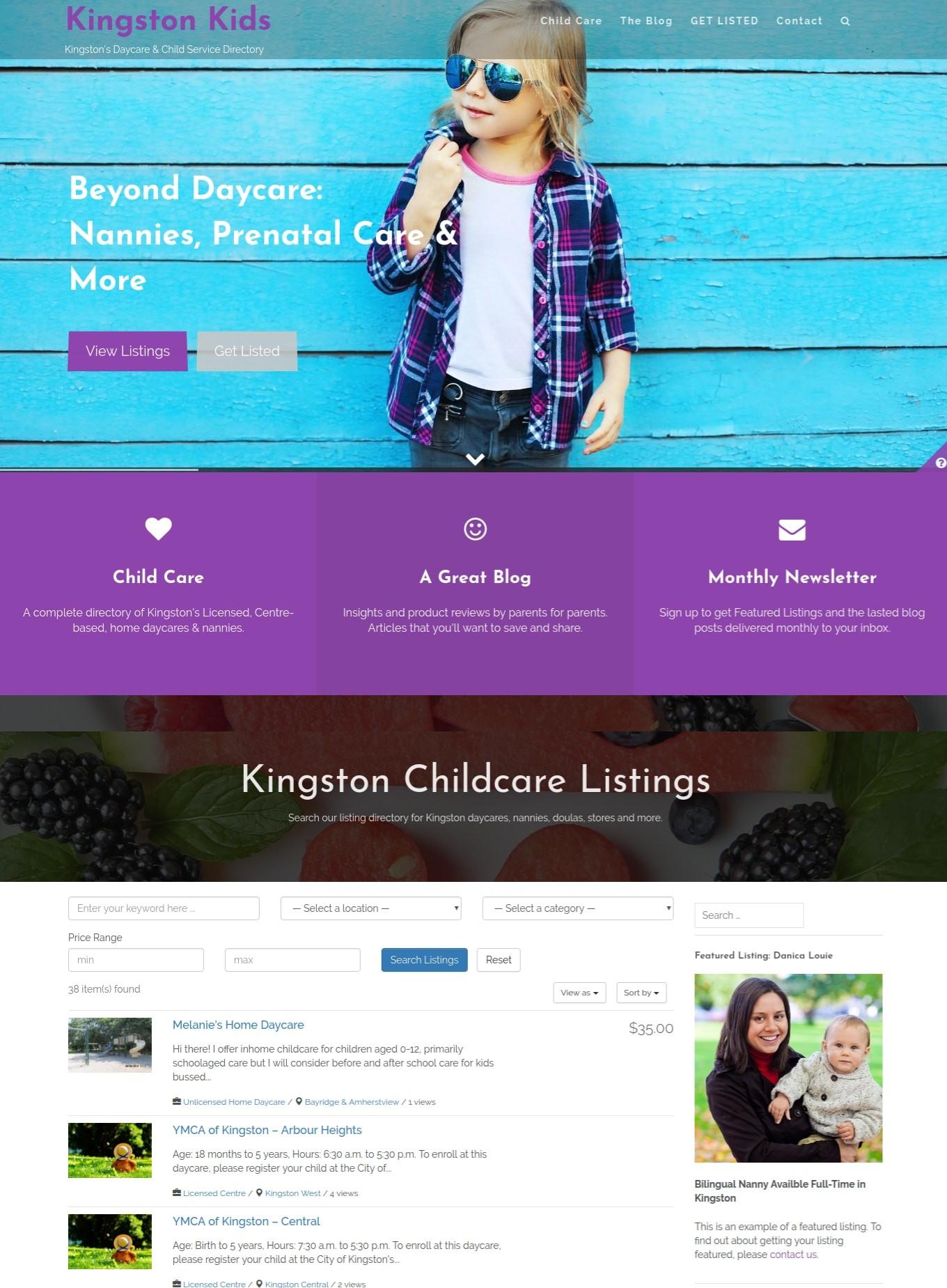 kingston on web design web development wordpress experts