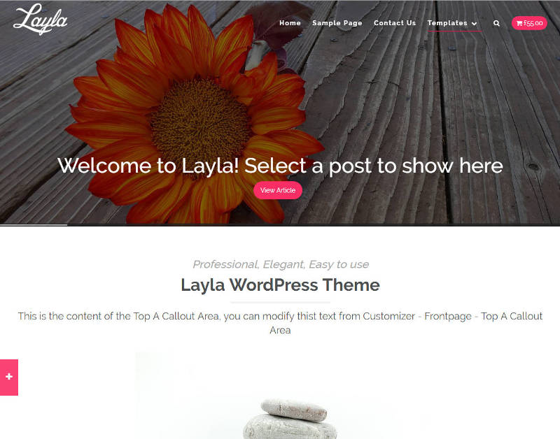Layla WordPress Theme