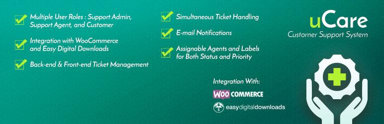 ucare-wordpress-customer-support-system