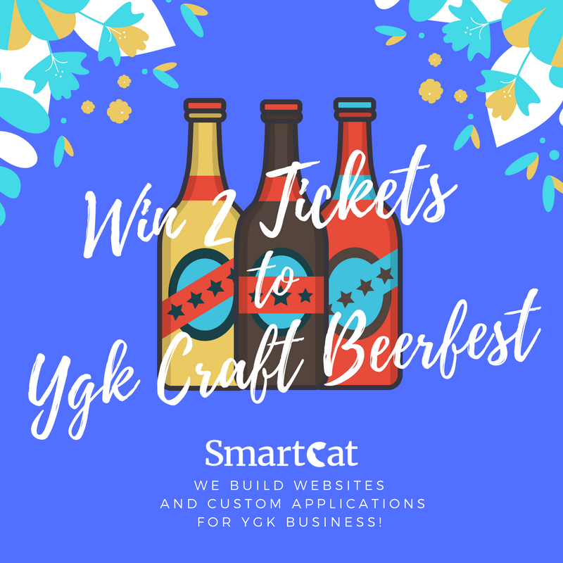 Win Two Tickets To YGK Craft Beerfest: June 10, 2017 in Kingston!